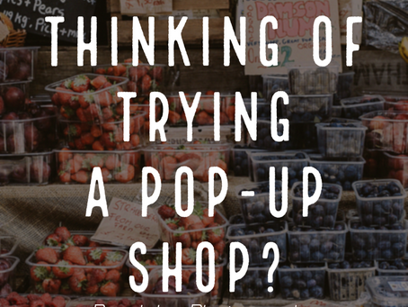Thinking of Trying a Pop-Up Shop? Here's How to turn that into Lifelong Customers