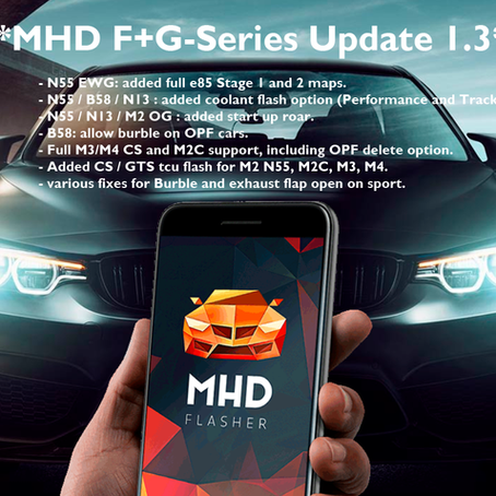 MHD F+G Series Update V1.3