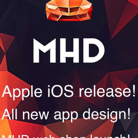 MHD iOS app Launch!