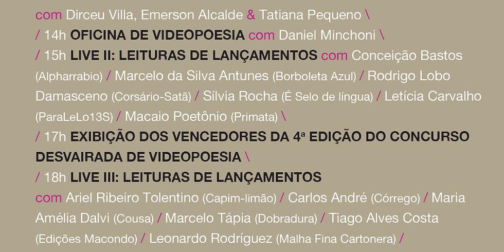 IV Desvairada | Live III - Leituras de Lançamentos com Leonardo Rodríguez