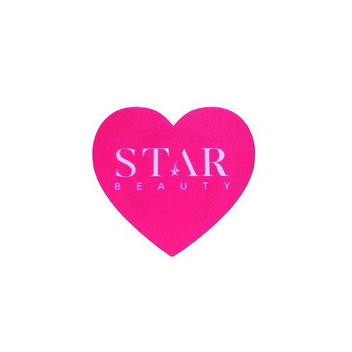 Star Beauty Pink Heart Pop Socket