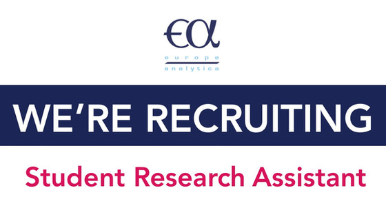 Europe Analytica is looking for a New Research Assistant!             Deadline 28 August 2018