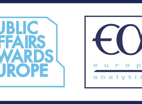 Europe Analytica wins two European Public Affairs awards