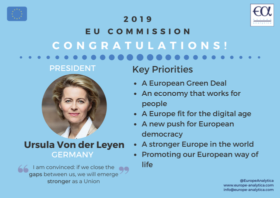 New chief at the European Commission - Von der Leyen takes charge