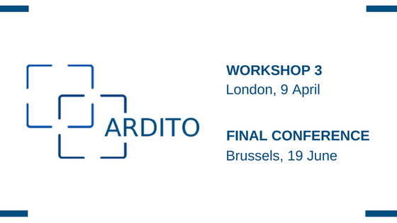 EU co-funded ARDITO project held its third workshop in London