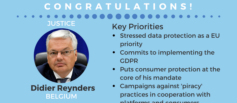 Reynders, from the Belgium government to the Commission