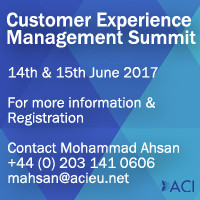 Europe Analytica partners with ACI Europe for the Customer Experience Management Summit 2017