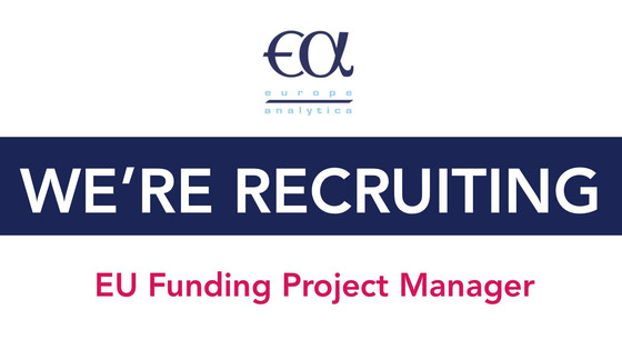 Europe Analytica is looking for a new EU Funding Project Manager!