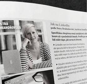 PhDr. Petra Drahoňovská - Career Designer - časopis Instinkt