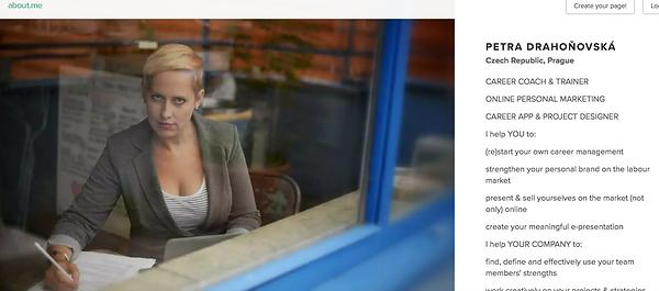 Career Designer, Petra Drahoňovká, já s.r.o., linkedin, kariérový koučink, kariérové poradneství, career coaching, LinkedIn konzultace, osobní značka, osbobní brand, osobní brandig, osobní marketing