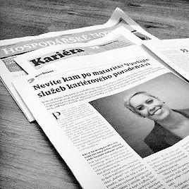 PhDr. Petra Drahoňovská - Career Designer - Hospodářské noviny