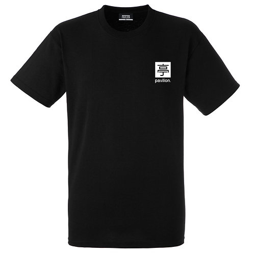 PAVILION SOURCED T SHIRT | BLACK