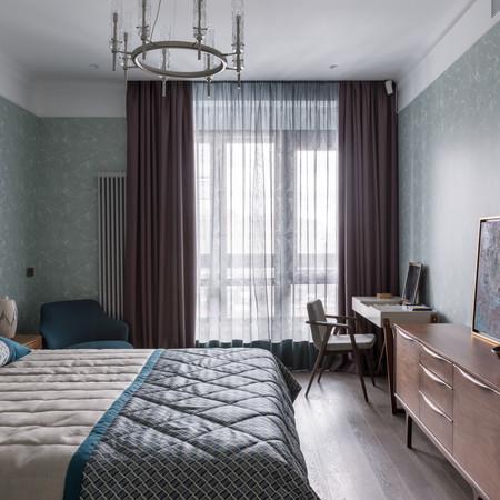"""Спальня в проекте ЖК """"Баррин Хаус"""""""
