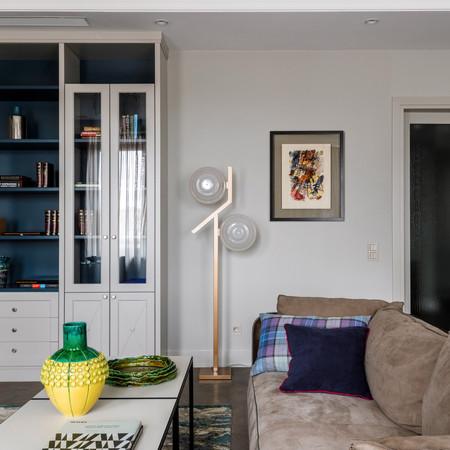 Фрагмент гостиной в проекте ЖК Баррин Хаус