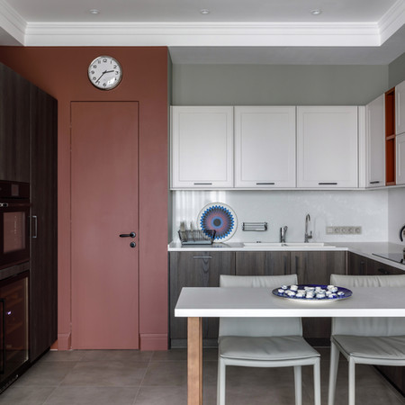 "Кухня в проекте ЖК ""Баррин Хаус"""