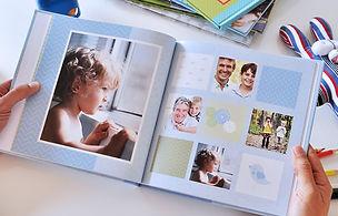 детская фотокнига первый год, детский альбом на заказ
