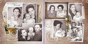 фотокнига из старых печатных фотографий пример