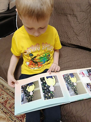 детский альбом на заказ, фотокниги