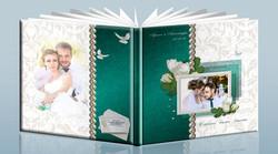 пример свадебной фотокниги пожеланий