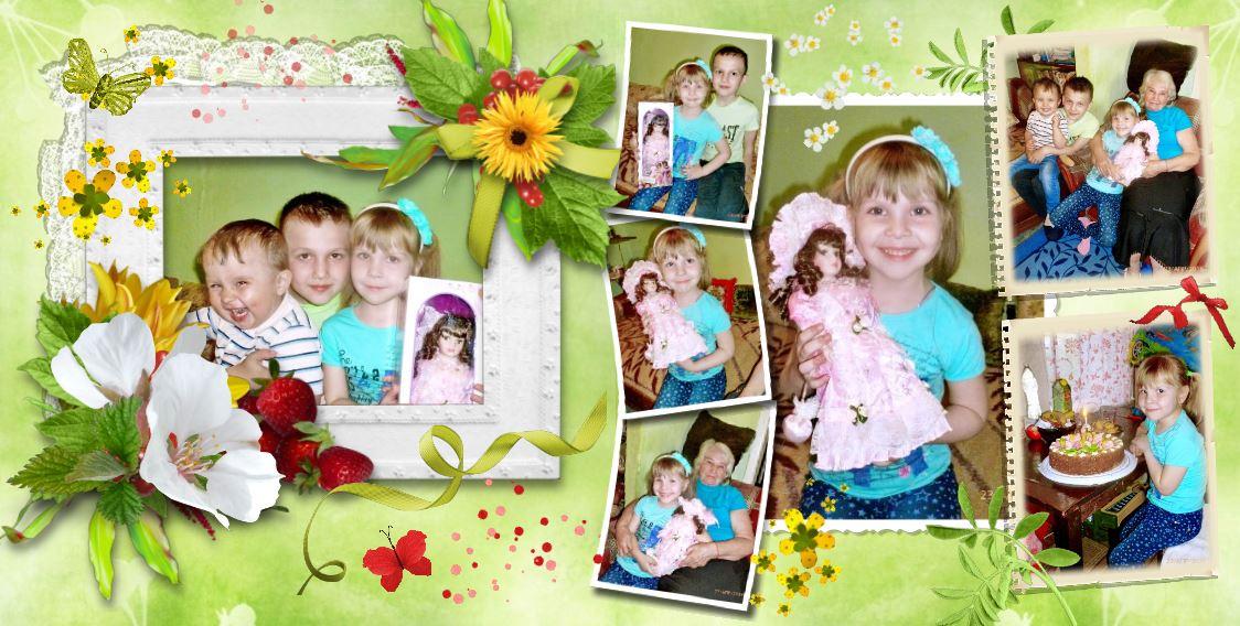 фотокниги детские примеры работ