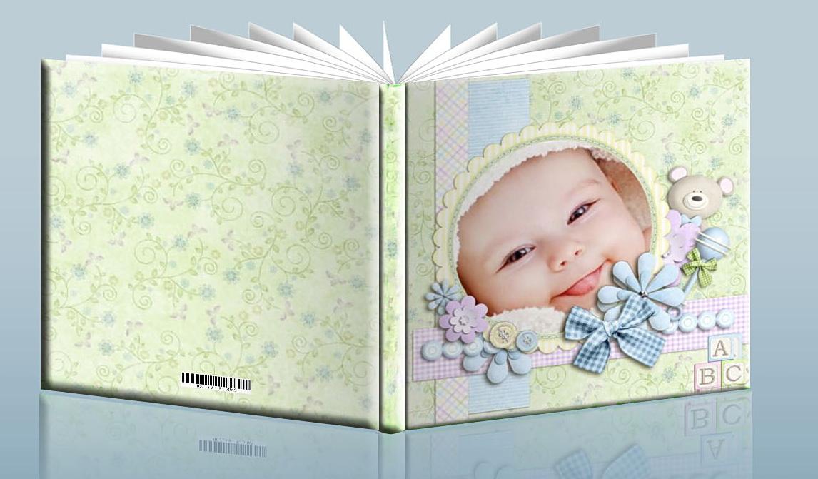 детская фотокнига пример оформления