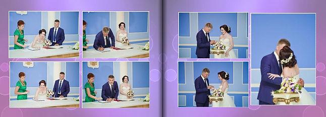 свадебная фотокнига примеры