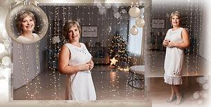 пример новогодней фотокниги