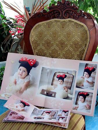 детская фотокнига первый год жизни