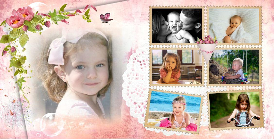 Детские фотокниги примеры