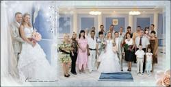 свадебная фотокнига пример