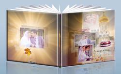 фотокнига венчание, венчальная фоток