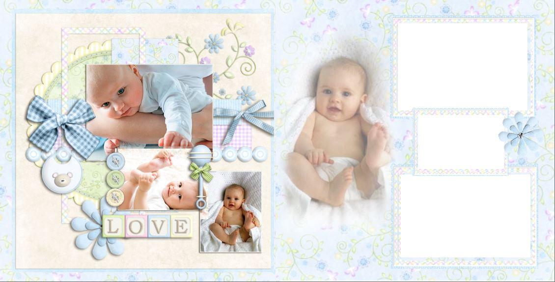 фотокнига для малыша новорожденного