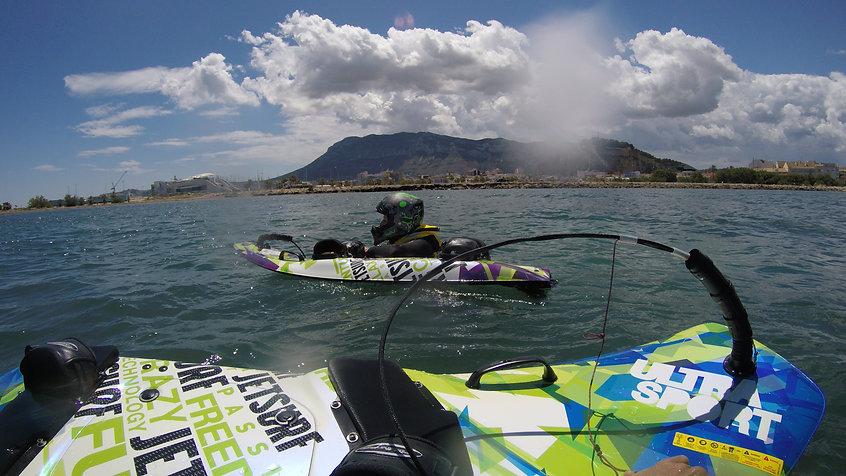 TIradas wakeboard y charter con patron