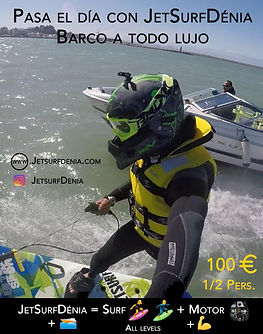 Jetsurf boat excursions