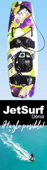 surf a motor en Dénia, este invierno deja el gimnasio (gym) y haz del jetsurf tu deporte