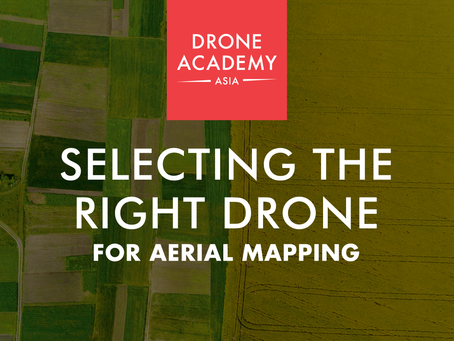 Challenges in Selecting the Right Drone for Aerial Mapping