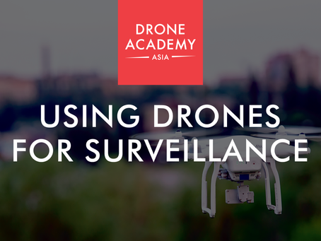 Using Drones for Surveillance