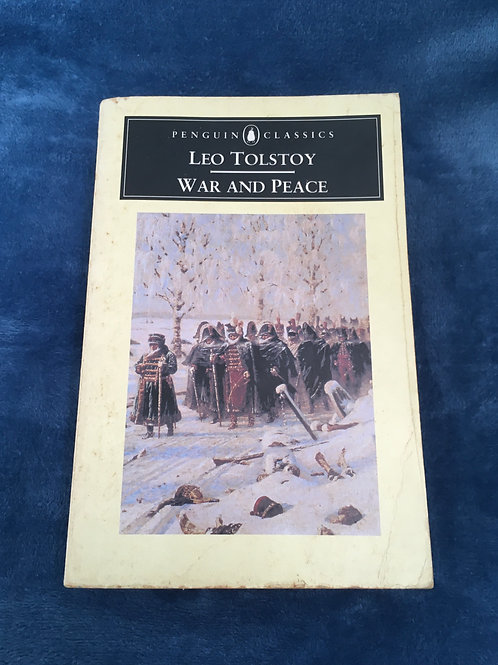'War and Peace' by Leo Tolstoy