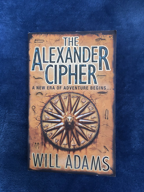 'The Alexander Cipher' by Will Adams