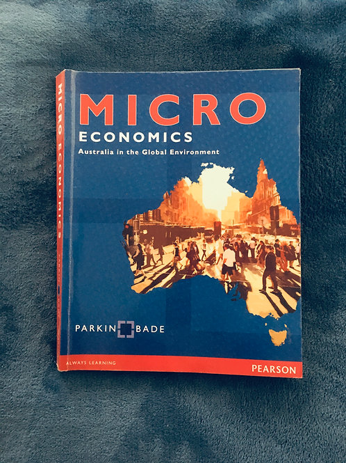'Microeconomics: AU in Global Environment' by Michael Parkin and Robin Bade