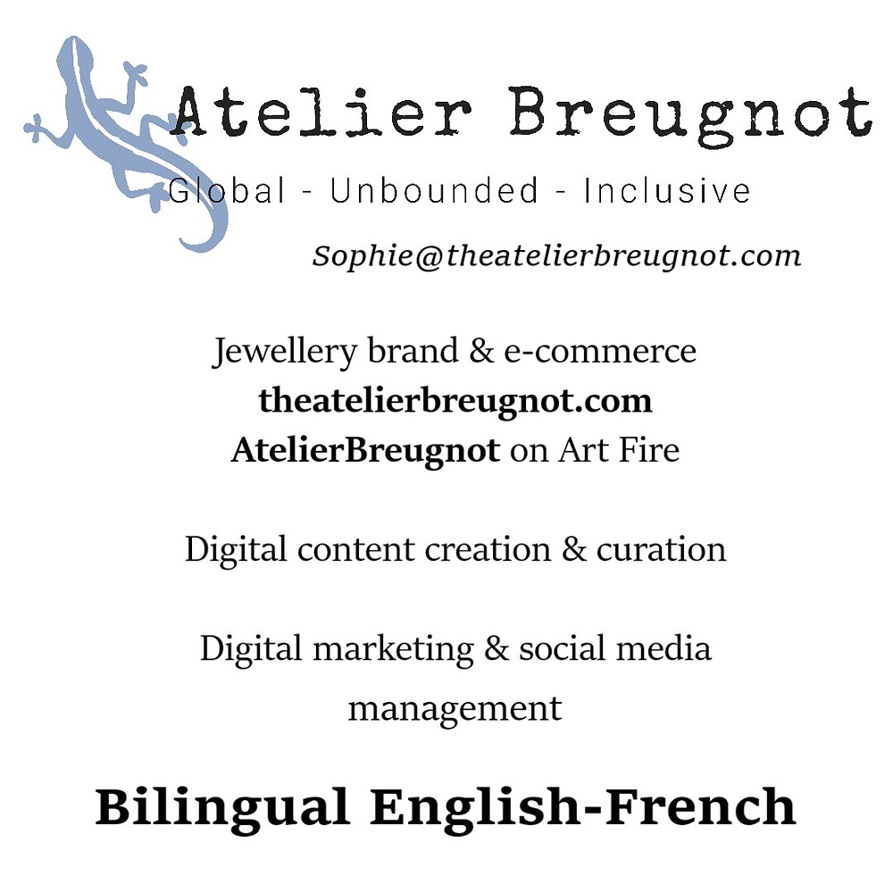 Atelier Breugnot business card
