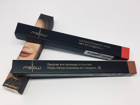 Lips to die for with Mellow Cosmetics