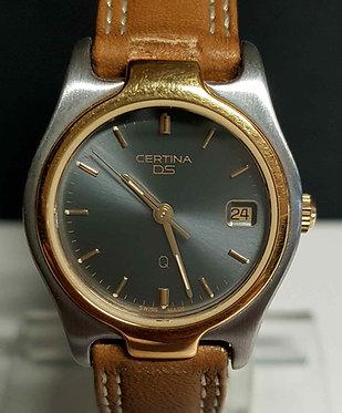 Reloj CERTINA DS, Swiss made -cristal zafiro - 10 ATM - vintage, NOS