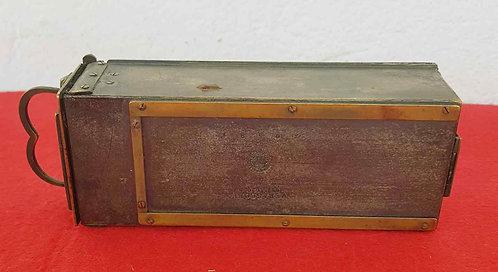 CHASIS MAGAZINE VERASCOPE Y PORTAPLACAS para placas de cristal de 4,5 x 10,5 cm