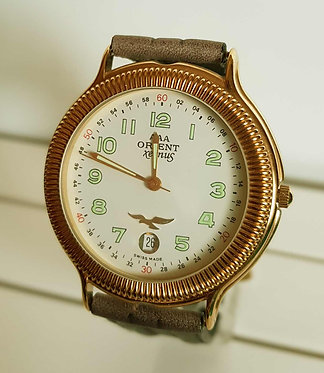 RELOJ ORIENT VINTAGE C1980, SWISS MADE, NOS (new old stock)
