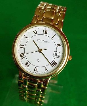 reloj certina vintage