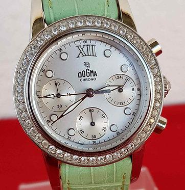 Reloj DOGMA cronógrafo, Swiss made, VINTAGE. NOS