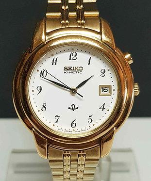 Reloj SEIKO KINETIC 3M22-0E50, Vintage, NOS (New Old Stock)