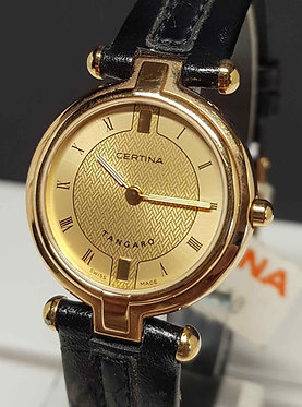 Reloj CERTINA TANGARO, Swiss made- cristal zafiro, vintage, NOS