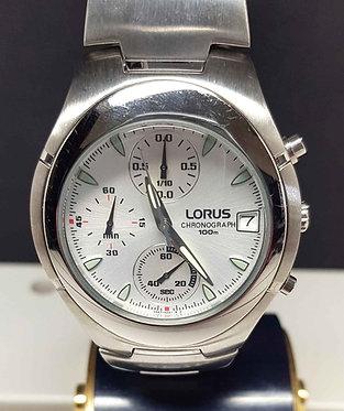 Reloj LORUS SPORTS V657 - cronografo- 10 Atm - Vintage, NOS